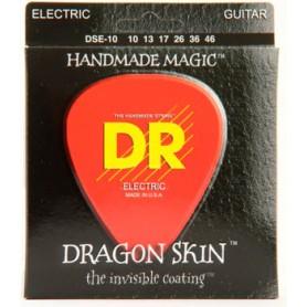 Cuerdas Eléctrica DR Strings Dragon Skin K3™ Coated 10-46