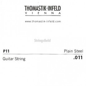 Thomastik Infeld Plain Brass Plated Single String .011plain