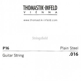 Thomastik Infeld Plain Brass Plated Single String .016plain