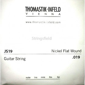 Corda Solta Elèctrica Thomastik JS19 Nickel Flatwound 019
