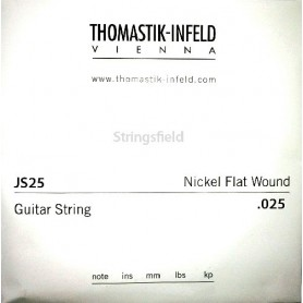 Thomastik Infeld JS25 Nickel Flatwound 025 Single String 025