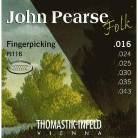 Thomastik John Pearse Folk Guitar Strings PJ116 16-43