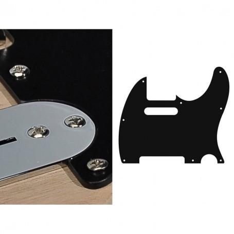 Golpeador para Eléctrica Tipo Telecaster Negro 1 Capa