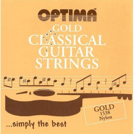 Optima 1538 Gold Nylon Classical Guitar Strings
