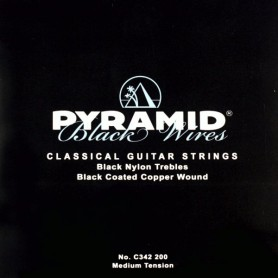 Pyramid Black Wires Classical Guitar Strings