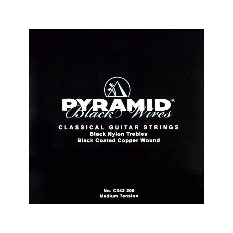 Cuerdas_de_ClyAsica_Pyramid_Black_Wires