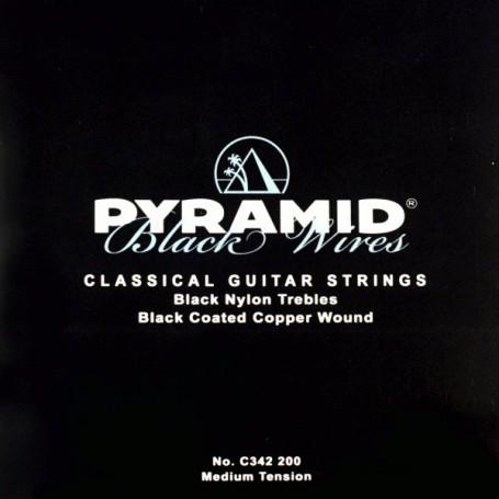 Cuerdas de Clásica Pyramid Black Wires
