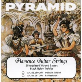 Cuerdas de Clásica Pyramid Flamenco Hard Tension
