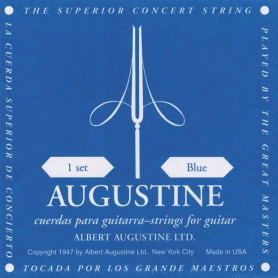 Cuerdas Clásica Augustine Classic Blue High Tension