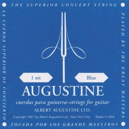 Cuerdas Clásica Augustine Classic Blue High Tension -High_Tension_