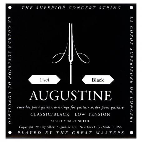 Cuerdas Clásica Augustine Classic Black Low Tension