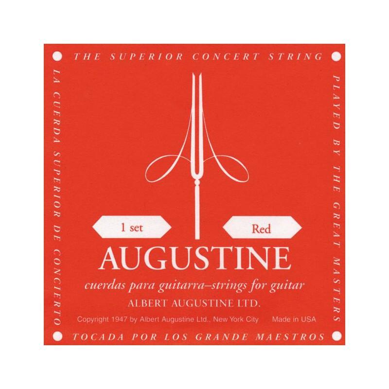 Cuerdas_ClyAsica_Augustine_Red_Normal_Tension_