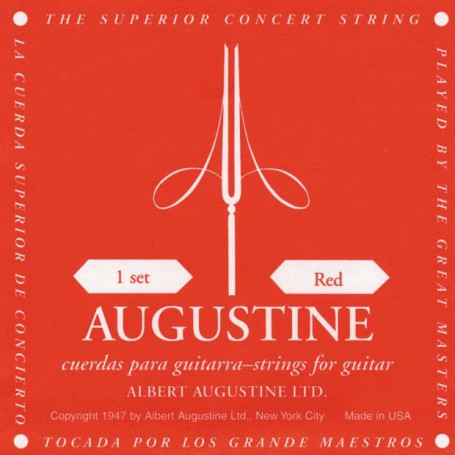 cuerdas-clasica-augustine-classic-red-medium-tension