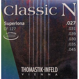 Cuerdas Clásica Thomastik CF127 N Superlona Series Nylon- Normal Tension