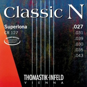 Cuerdas Clásica Thomastik CR127 N Superlona Series Nylon- Normal Tension