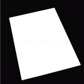 Full de Colpejador Color Blanc 3 capes 30x30cm