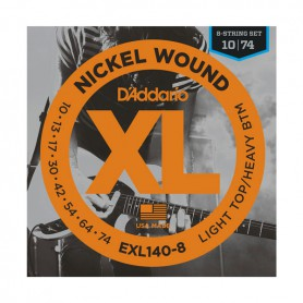 D´Addario EXL140-8 10-74 8 Electric Strings Set