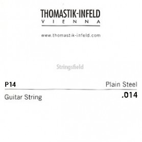 Thomastik Infeld Plain Brass Plated Single String .014plain
