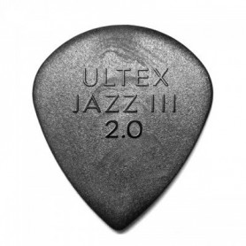 Dunlop Ultex Jazz III 2.00mm. Picks