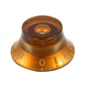Botón de potenciómetro ámbar tipo campana