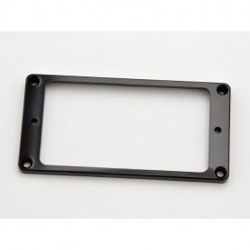 Black Flat Humbucker Ring Mounting for Neck Position