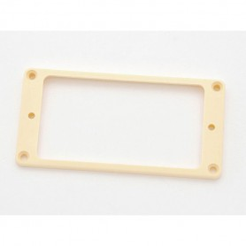 Cream Flat Humbucker Ring Mounting for Neck Position