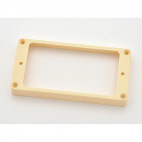 Cream Flat Humbucker Ring Mounting for Bridge Position