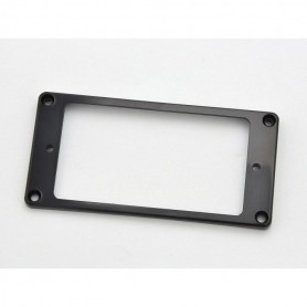 Black Arched Top Humbucker Ring Mounting for Neck Position
