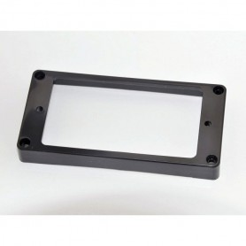 Black Arched Top Humbucker Ring Mounting for Bridge Position