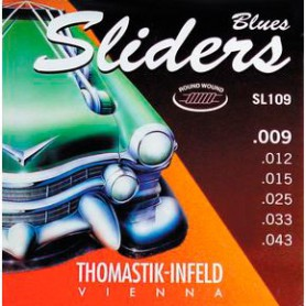 Cuerdas Eléctrica Thomastik Blues Sliders SL109 09-43