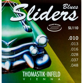Cordes Elèctrica Thomastik Blues Sliders SL110 10-48