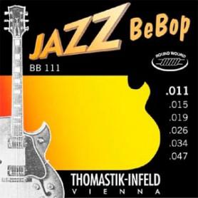 Cuerdas Eléctrica Thomastik Jazz BeBop BB111 11-47