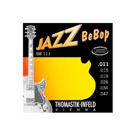 Cuerdas Eléctrica Thomastik Jazz BeBop BB111 11-47-47