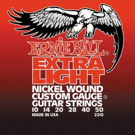 Ernie Ball Extra Light 2210 10-50 Electric Strings