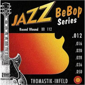 Cuerdas Eléctrica Thomastik Jazz BeBop BB112 12-50