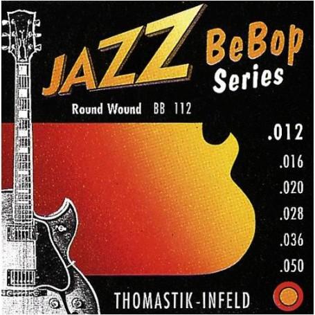 Cuerdas Eléctrica Thomastik Jazz BeBop BB112 12-50-50
