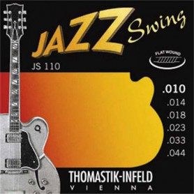 Thomastik JS110 Jazz Swing Flatwound Electric Strings 10-44