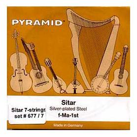 Cuerdas_de_Sitar_Pyramid_677-7_7_strings14_Set