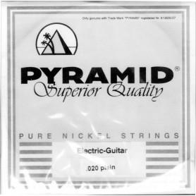 Cuerda Suelta Pyramid Pure Nickel 020 Plana