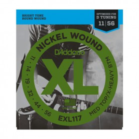 D´Addario EXL117 Med. Top-X-heavy Bottom 11-56