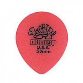 Púes Dunlop Tortex Teardrop 0.50 mm.