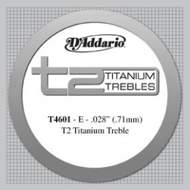 D´Addario T4601 Titanium E Hard Tension