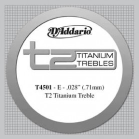 D´Addario T4501 Titanium E Hard Tension