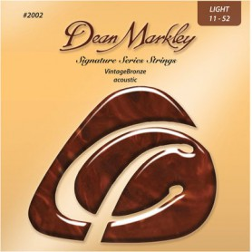 Cuerdas Acústica Dean Markley Vintage Bronze 2002 Light 11-52