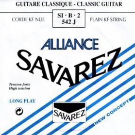 Cuerda Suelta Clásica Savarez Alliance 542J 2ª Tensión Fuerte