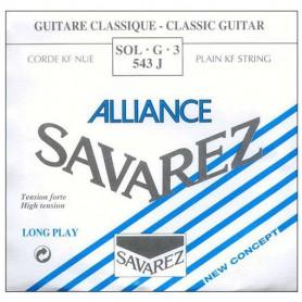 Cuerda Suelta Clásica Savarez Alliance 543J 3ª Tensión Fuerte