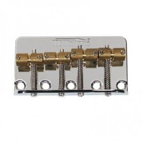 Wilkinson Nickel Bridge Tailpiece for Precision-Jazz Bass