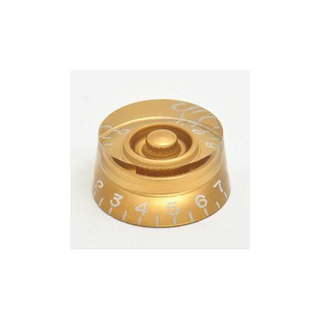 Botón de Potenciómetro Goldo Speed Dorado