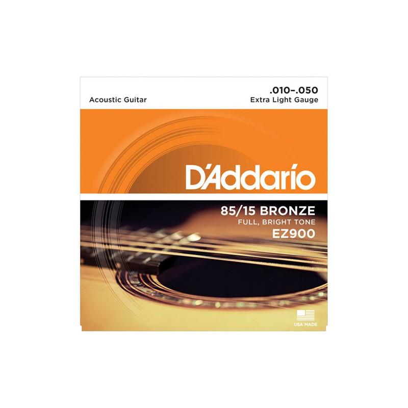 Cuerdas Acústica D´Addario-EZ900 Bronze 10-50