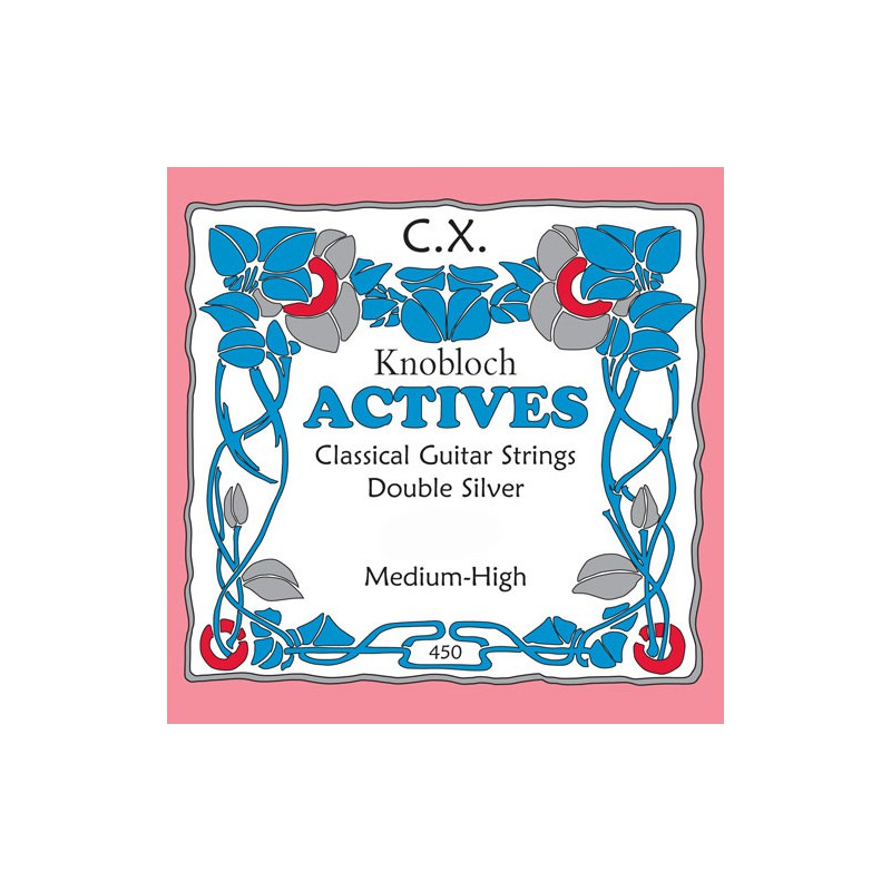 Cuerda Suelta Clásica Knobloch CX Actives Tensión Media Alta